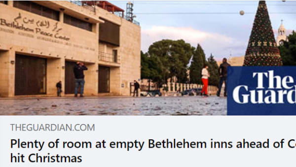Plenty of room at empty Bethlehem inns ahead of Covid-hit Christmas