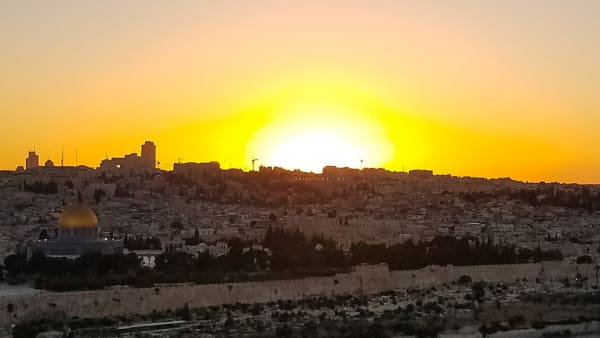 Sunrise Bethlehem