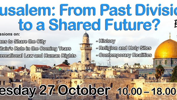 Event:  Jerusalem: From Past Divisions to a Shared Future?