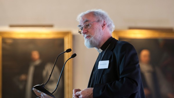 The Rt. Revd. and Rt. Hon. Dr Rowan Williams
